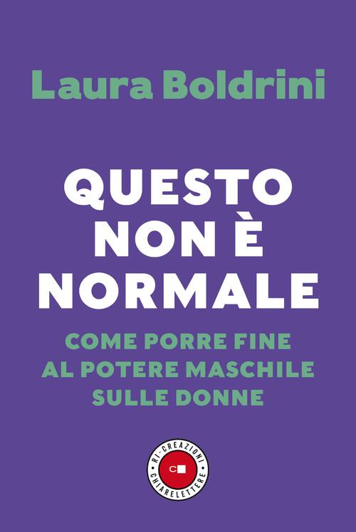Copertina Questo non è normale di Laura Boldrini